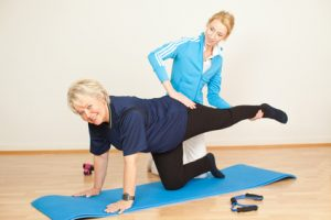 Behandlung des Bewegungsapparates während der kardiologischen Reha