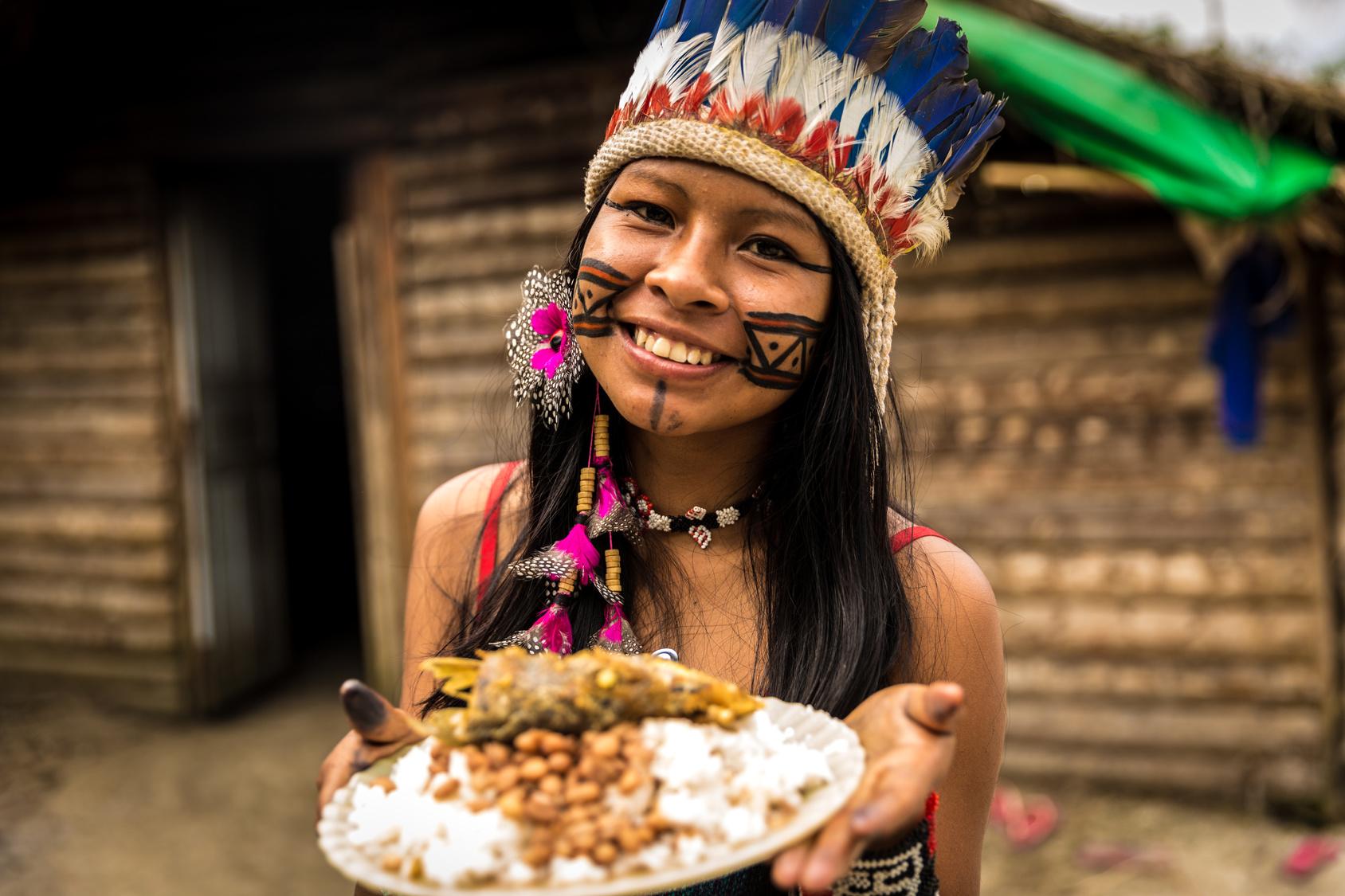 Gesundes Essen bei Naturvölkern